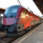 高速列車レイルジェットでウィーンからブダペストへ移動する方法